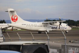 EosR2さんが、鹿児島空港で撮影した北海道エアシステム ATR 42-600の航空フォト(飛行機 写真・画像)