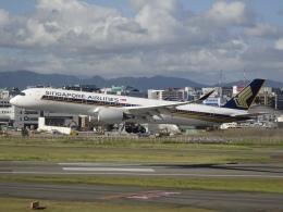 Blue779Aさんが、福岡空港で撮影したシンガポール航空 A350-941の航空フォト(飛行機 写真・画像)
