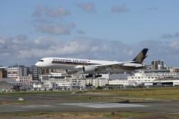 えむでぃ〜さんが、福岡空港で撮影したシンガポール航空 A350-941の航空フォト(飛行機 写真・画像)
