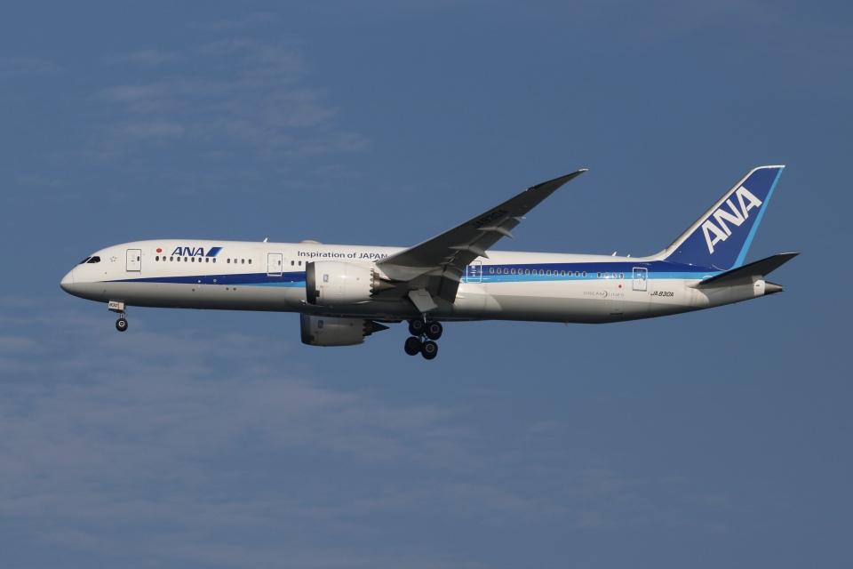 SIさんの全日空 Boeing 787-9 (JA830A) 航空フォト