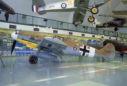 JAパイロットさんが、The Royal Air Force Museum London / Hendonで撮影したRoyal Air Force Museum Bf 109G-2/Tropの航空フォト(飛行機 写真・画像)