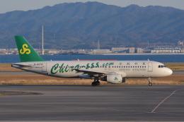 Deepさんが、関西国際空港で撮影した春秋航空 A320-214の航空フォト(飛行機 写真・画像)