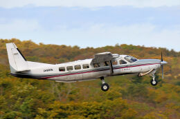 syo12さんが、鹿部飛行場で撮影した朝日航空 208B Grand Caravanの航空フォト(飛行機 写真・画像)