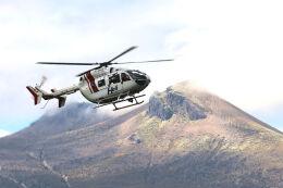 syo12さんが、鹿部飛行場で撮影したセントラルヘリコプターサービス BK117C-2の航空フォト(飛行機 写真・画像)