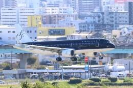 myoumyoさんが、福岡空港で撮影したスターフライヤー A320-214の航空フォト(飛行機 写真・画像)