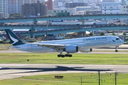 myoumyoさんが、福岡空港で撮影したキャセイパシフィック航空 A350-941の航空フォト(飛行機 写真・画像)