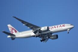 jutenLCFさんが、中部国際空港で撮影したカタール航空カーゴ 777-Fの航空フォト(飛行機 写真・画像)