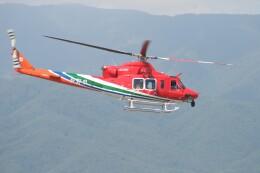 Aoi_heliさんが、松本空港で撮影した長野県消防防災航空隊 412EPIの航空フォト(飛行機 写真・画像)