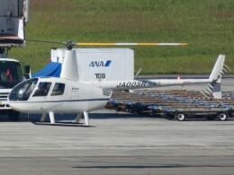 宮城の航空ファンさんが、仙台空港で撮影した匠航空 R44 Ravenの航空フォト(飛行機 写真・画像)