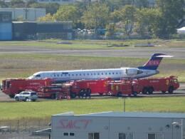 宮城の航空ファンさんが、仙台空港で撮影したアイベックスエアラインズ CL-600-2C10(CRJ-702)の航空フォト(飛行機 写真・画像)
