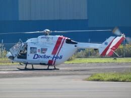 宮城の航空ファンさんが、仙台空港で撮影した東北エアサービス BK117B-2の航空フォト(飛行機 写真・画像)