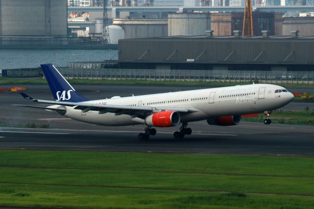 航空フォト:LN-RKU スカンジナビア航空 A330-300