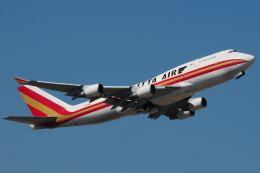 doncyanさんが、香港国際空港で撮影したカリッタ エア 747-4H6(BCF)の航空フォト(飛行機 写真・画像)