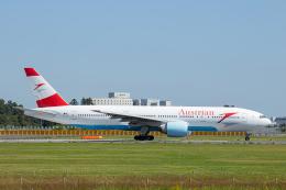 SGR RT 改さんが、成田国際空港で撮影したオーストリア航空 777-2Q8/ERの航空フォト(飛行機 写真・画像)