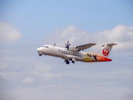 だぞさんが、鹿児島空港で撮影した日本エアコミューター ATR 42-600の航空フォト(飛行機 写真・画像)