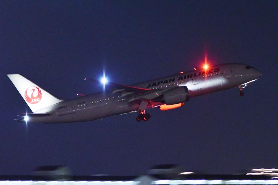 TOPAZ102さんの日本航空 Boeing 787-8 Dreamliner (JA849J) 航空フォト