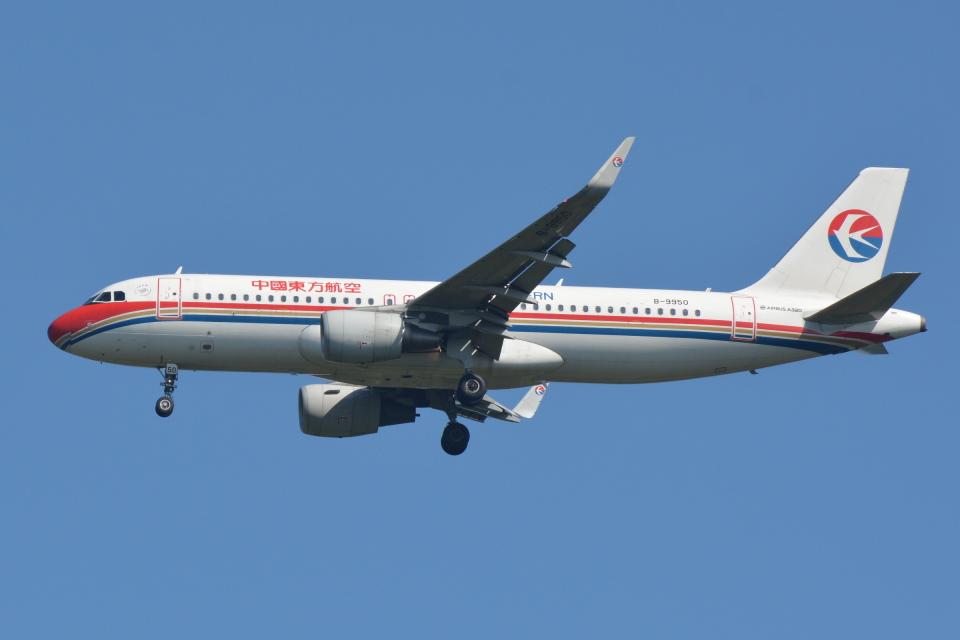 Deepさんの中国東方航空 Airbus A320 (B-9950) 航空フォト