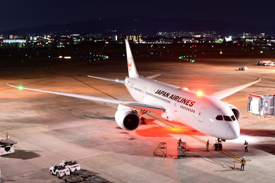 TOPAZ102さんの日本航空 Boeing 787-8 Dreamliner (JA848J) 航空フォト