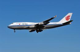 パール大山さんが、成田国際空港で撮影した中国国際航空 747-4J6の航空フォト(飛行機 写真・画像)