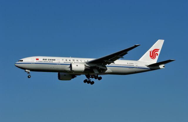 2001年09月24日に撮影された中国国際航空(エア チャイナ)の航空機写真