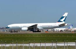 パール大山さんが、成田国際空港で撮影したキャセイパシフィック航空 777-267の航空フォト(飛行機 写真・画像)