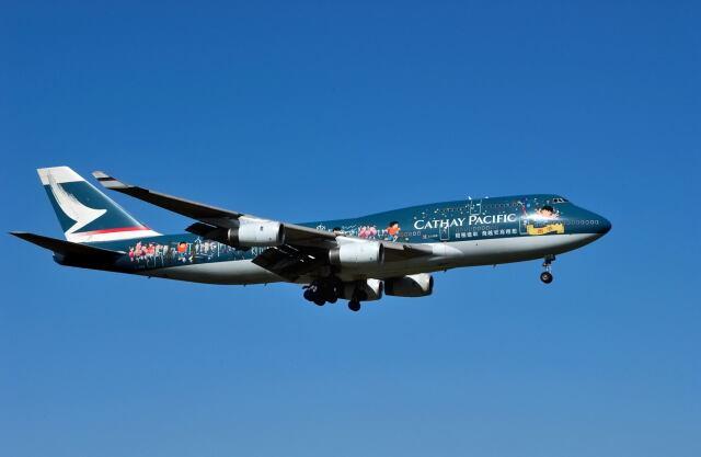 2001年09月24日に撮影されたキャセイパシフィック航空の航空機写真