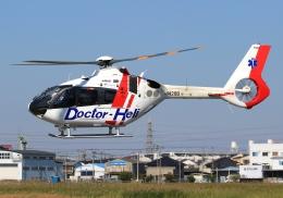 LOTUSさんが、八尾空港で撮影した中日本航空 EC135P3の航空フォト(飛行機 写真・画像)