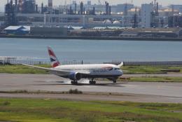 Kyoheiさんが、羽田空港で撮影したブリティッシュ・エアウェイズ 787-8 Dreamlinerの航空フォト(飛行機 写真・画像)