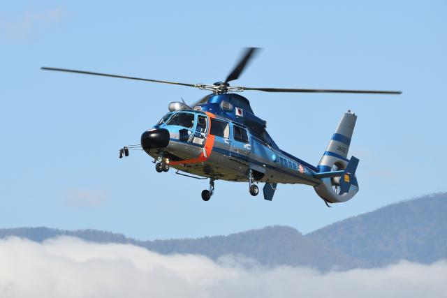 EC5Wさんが、松本空港で撮影した長野県警察 AS365N3 Dauphin 2の航空フォト(飛行機 写真・画像)