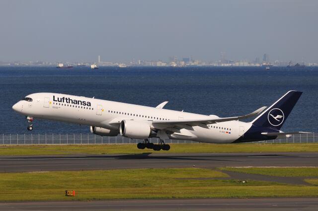 2021年04月18日に撮影されたルフトハンザドイツ航空の航空機写真