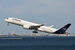 シグナス021さんが、羽田空港で撮影したルフトハンザドイツ航空 A350-941の航空フォト(飛行機 写真・画像)
