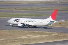 プルシアンブルーさんが、福島空港で撮影した日本トランスオーシャン航空 737-429の航空フォト(飛行機 写真・画像)