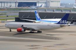 mike-indiaさんが、羽田空港で撮影したスカンジナビア航空 A330-343Xの航空フォト(飛行機 写真・画像)