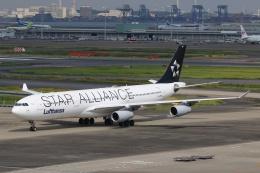 mike-indiaさんが、羽田空港で撮影したルフトハンザドイツ航空 A340-313Xの航空フォト(飛行機 写真・画像)