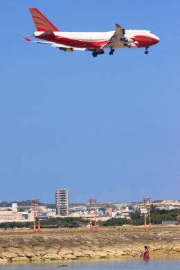 嘉手納飛行場 - Kadena airfield [DNA/RODN]で撮影されたナショナル・エアラインズ - National Airlines [N8/NCR]の航空機写真