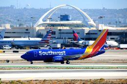 まいけるさんが、ロサンゼルス国際空港で撮影したサウスウェスト航空 737-7CTの航空フォト(飛行機 写真・画像)
