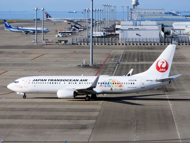 2021年10月15日に撮影された日本トランスオーシャン航空 (JTA)の航空機写真
