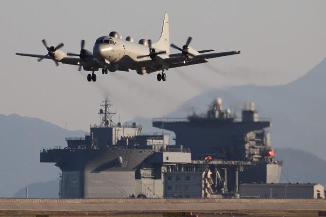 2021年10月15日に撮影された海上自衛隊の航空機写真