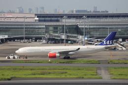 Musondaさんが、羽田空港で撮影したスカンジナビア航空 A330-343Xの航空フォト(飛行機 写真・画像)