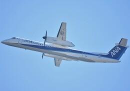 takikoki50000さんが、関西国際空港で撮影したANAウイングス DHC-8-402Q Dash 8の航空フォト(飛行機 写真・画像)