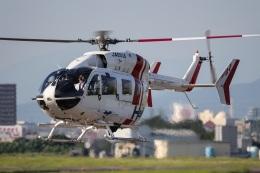 Wasawasa-isaoさんが、名古屋飛行場で撮影したセントラルヘリコプターサービス BK117C-2の航空フォト(飛行機 写真・画像)