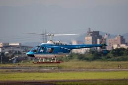 Wasawasa-isaoさんが、名古屋飛行場で撮影した中日本航空 206B JetRanger IIIの航空フォト(飛行機 写真・画像)