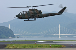 スカルショットさんが、舞鶴飛行場で撮影した陸上自衛隊 AH-1Sの航空フォト(飛行機 写真・画像)