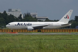 磐城さんが、成田国際空港で撮影したジェット・アジア・エアウェイズ 767-246の航空フォト(飛行機 写真・画像)