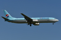Deepさんが、成田国際空港で撮影した大韓航空 737-9B5の航空フォト(飛行機 写真・画像)