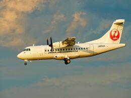 監督さんが、伊丹空港で撮影した日本エアコミューター ATR 42-600の航空フォト(飛行機 写真・画像)