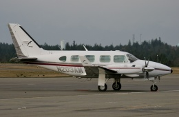 TA27さんが、TIW/KTIW (Tacoma Narrows, WA)で撮影したUnknown PA-31-310 Navajo Cの航空フォト(飛行機 写真・画像)
