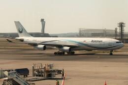 BTYUTAさんが、イスタンブール空港で撮影したイラン・アーセマーン航空 A340-311の航空フォト(飛行機 写真・画像)