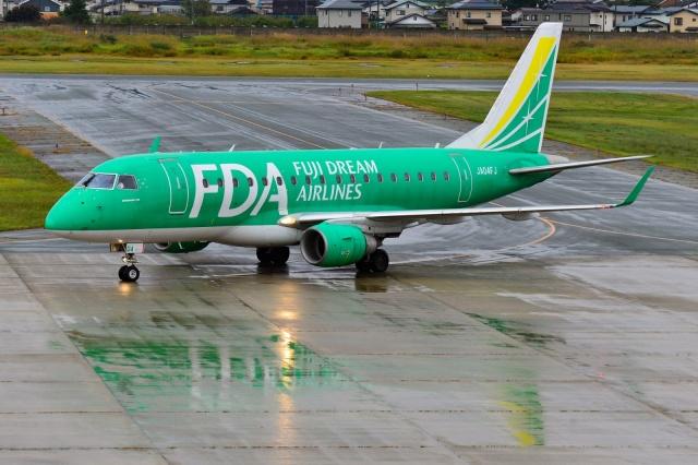 2021年10月16日に撮影されたフジドリームエアラインズ (FDA)の航空機写真