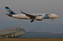 Deepさんが、関西国際空港で撮影したエジプト航空 A330-243の航空フォト(飛行機 写真・画像)
